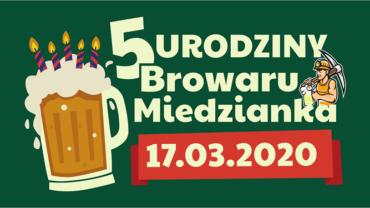 5 urodziny Browaru Miedzianka