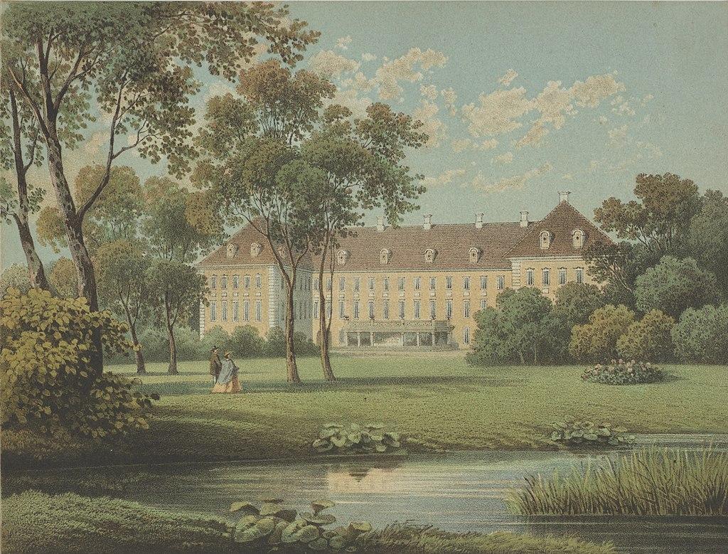 pałac Schaffgotschów na grafice Dunckera, wolne media